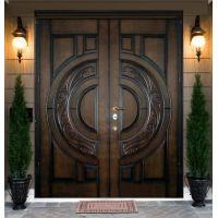 Зачем устанавливают двухстворчатые входные двери