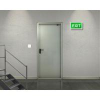 Материалы, используемые при изготовлении противопожарных дверей, и правила пожарной безопасности
