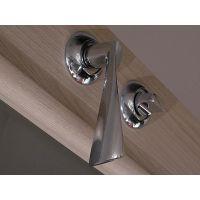 Как установить дверные ручки и защелку на межкомнатную дверь?