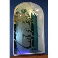 Существующие технологии обработки стекла для дверей: химическое травление