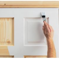 Советы по окрашиванию деревянных дверей: межкомнатных и входных