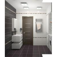 Двери для ванных и туалетных комнат: оптимальные размеры полотна