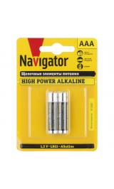 Батарейки Navigator NBT-NE-LR03 94 750 (BP2/100) alkaline