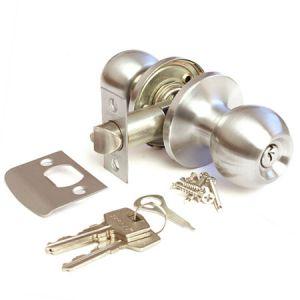 Шарик с механизмом (хром) ключ Ручка для межкомнатных дверей Арсенал