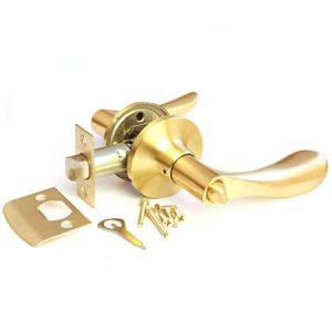 Рычажная  с механизмом (золото) ключ Ручка для межкомнатных дверей Арсенал
