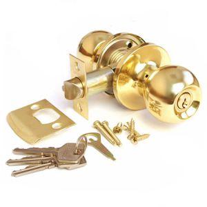 Шарик с механизмом (золото) ключ Ручка для межкомнатных дверей Арсенал