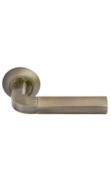 Дверная ручка Morelli MH-11 MAB/AB Цвет Матовая Античная бронза