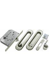 Комплект для раздвижных дверей MORELLI MHS150 WC SC мат.хром