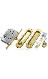 Комплект для раздвижных дверей MORELLI MHS150 WC SG мат.золото