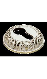 Ключевина MORELLI MH-KH CLP W/PG, белый/золото