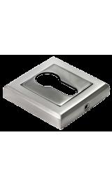 Ключевина MORELLI MH-KH-S SN/ВN белый никель/черный никель