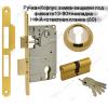 38 А (золото) Ручка для межкомнатных дверей Нора-М