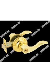 3В1-01 (золото) Ручка для межкомнатных дверей ключ Нора-М
