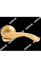 86 А (золото) Ручка для межкомнатных дверей Нора-М