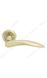 38 С (золото) Ручка для межкомнатных дверей Нора-М