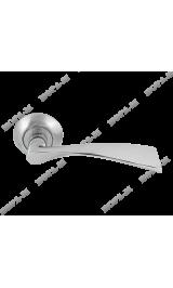 AL-100-А AL (хром) Ручка для межкомнатных дверей Нора-М