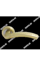 96С (мат.золото) Ручка для межкомнатных дверей Нора-М