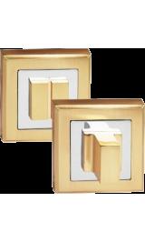 OLS_SB Золото матовое Фиксатор квадратный для межкомнатных дверей