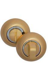 OL_SB Матовое золото Фиксатор круглый для межкомнатных дверей