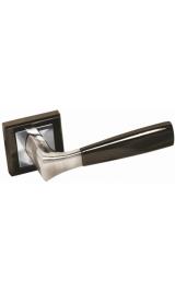Ручка дверная A-234 BH/PC черный никель Алюминий