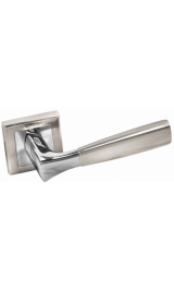 Ручка дверная A-234 HH/PC белый никель Алюминий