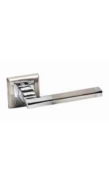 Ручка дверная A-220 HH/PC белый никель Алюминий