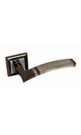 Ручка дверная A-230 BH/PC черный никель Алюминий