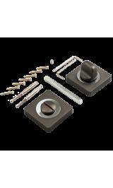 Завертка к ручкам PUERTO BK AL 02 MBN матовый черный никель