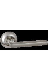 БРУНО никель матовый Ручка для межкомнатных дверей