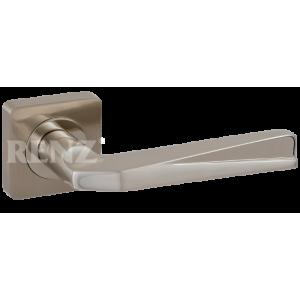 ВАЛЕРИО никель матовый никель блестящий Ручка для межкомнатных дверей