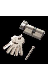Цилиндр RENZ CC 60-H SN никель матовый