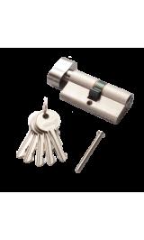 Цилиндр RENZ CS 60-H SN никель матовый