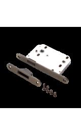Защелка дверная сантехническая магнитная RENZ Magn 2070 AB бронза античная