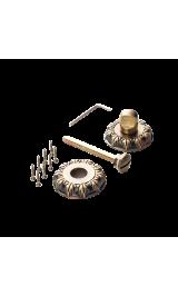 Завертка к ручкам ВК 10 BIG AB бронза античная ДЕКОР