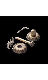 Завертка к ручкам ВК 08 BIG MАВ бронза античная матовая
