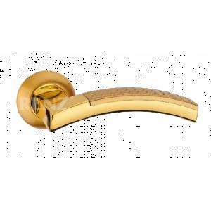 ВАЛЕНТИНО латунь матовая латунь блестящая Ручка для межкомнатных дверей