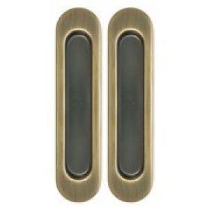 Ручка для раздвижных дверей матовая бронза