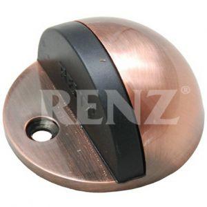 Ограничитель дверной напольный RENZ DS 44. AC медь античная