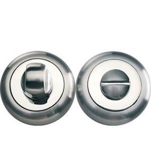 BK 04 никель матовый никель блестящий Фиксатор круглый для межкомнатных дверей