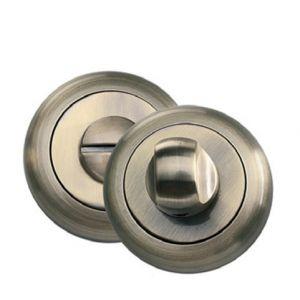 BK 04 бронза античная Фиксатор круглый для межкомнатных дверей