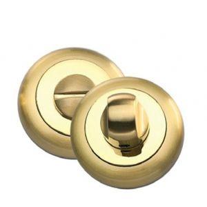 BK 04 латунь матовая латунь блестящая Фиксатор круглый для межкомнатных дверей