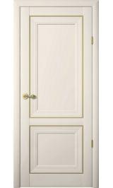 Прадо Винил ваниль молдинг золото глухая межкомнатная дверь