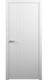 Сигма Винил белый глухая межкомнатная дверь