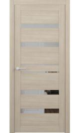 Дрезден Лиственница мокко с зеркалом межкомнатная дверь