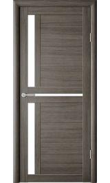 Кельн Серый кедр молочное стекло межкомнатная дверь
