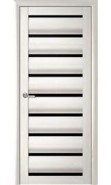 Сидней Белый кипарис черное стекло межкомнатная дверь