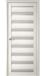 Сидней Белый кипарис матовое стекло межкомнатная дверь
