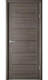 Вена Серый кедр глухая межкомнатная дверь