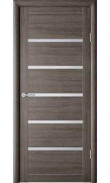 Вена Серый кедр матовое стекло межкомнатная дверь