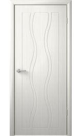 Бергамо Кедр белый глухая межкомнатная дверь